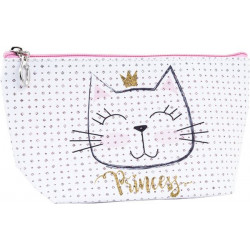Trousse de toilette PRINCESS KITTY (22x12x8 cm)