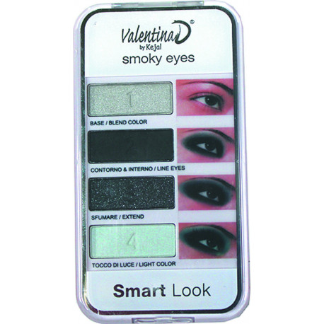 Palette de maquillage Smoky Eyes SMARTMAKEUP, en display
