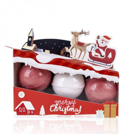 Set de boules effervescentes SANTA & CO
