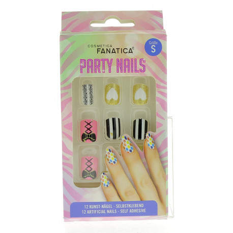 Faux Ongles autocollants 'SCARY'