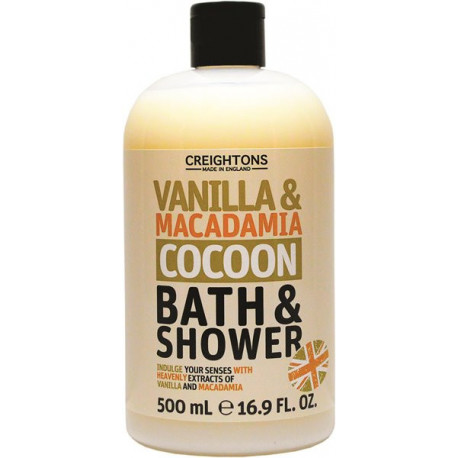 Gel douche Vanille & Macadamia INGREDIENTS